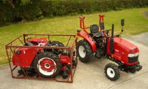 Tractor244withflatpack