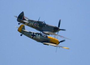 109 and spitfire