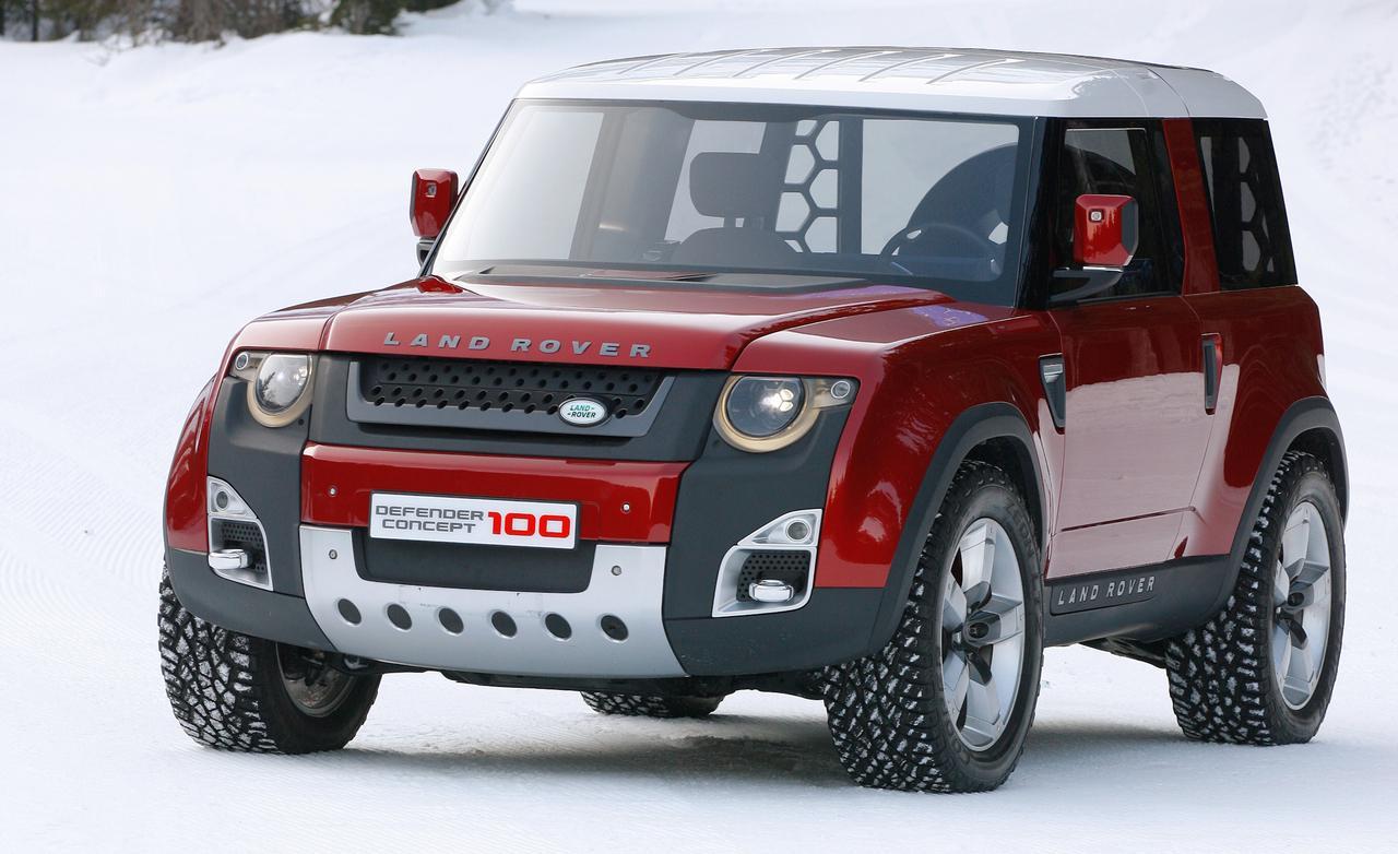 Land Rover DC100 | JackCollier7