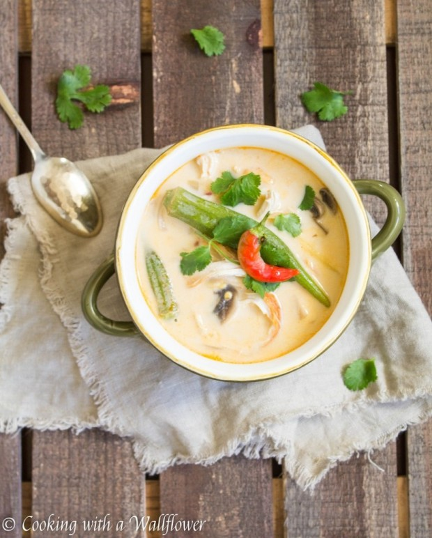 Spicy-Thai-Chicken-Coconut-Soup-with-Okra-and-Mushrooms-2-822x1024