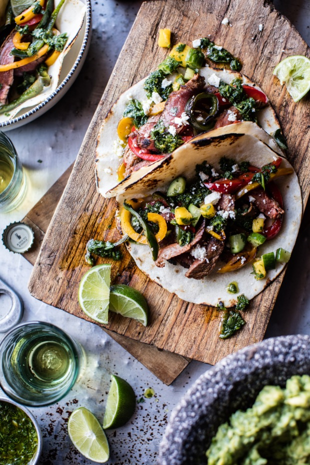 Steak-Fajitas-with-Chimichurri-and-Cucumber-Salsa-2-2