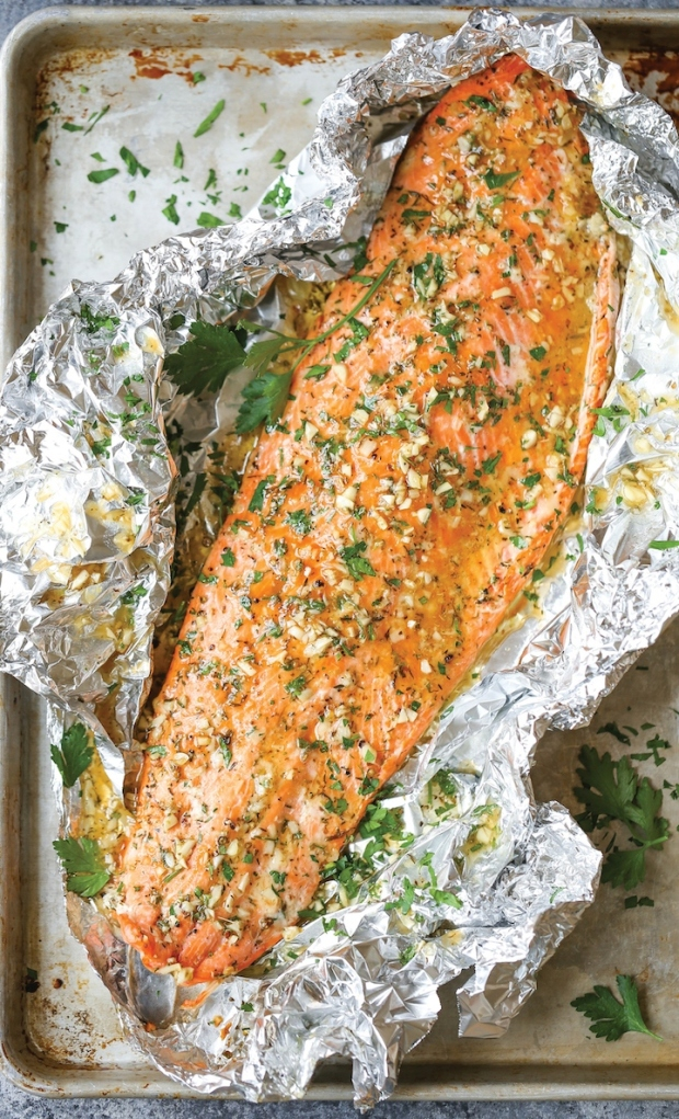 Garlic-Butter-Salmon-in-Foil