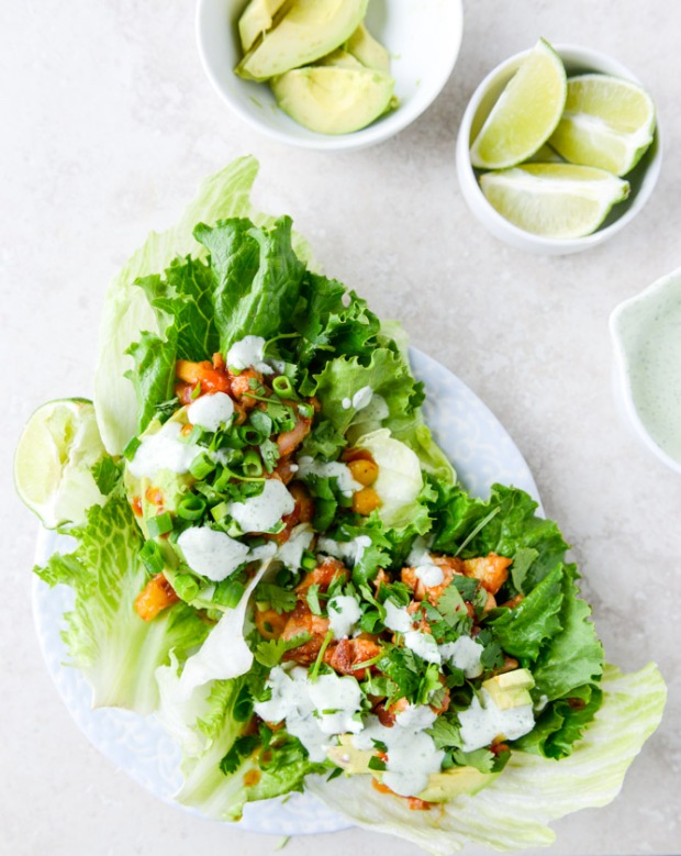 bbq-chicken-lettuce-wraps-I-howsweeteats.com-5