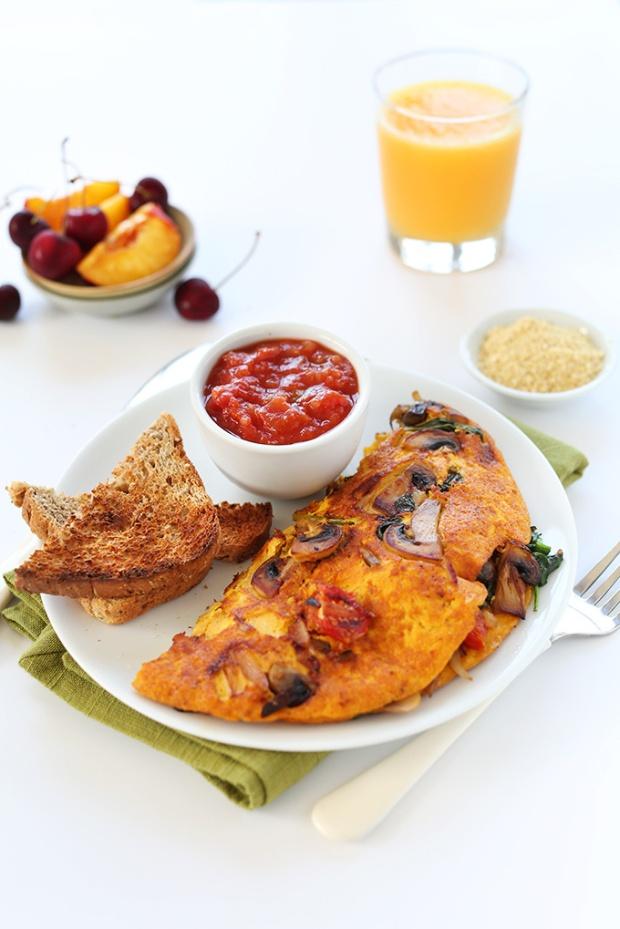 easy-vegan-omelet